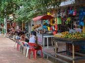 Las tiendas de Taganga