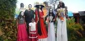El Dia de Los Muertos ( the day of the dead)
