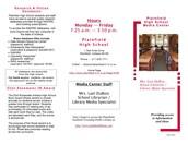 PHS Media Center Student Brochure