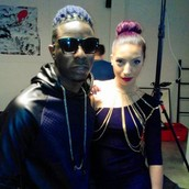 Behind the scene of the Music video for Odoyewu