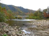 View of the Nolichucky River