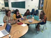 Teachers at BMES learning how to make their websites relevant and up to date
