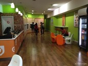 We are orange leaf frozen yogurt