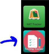 Testing tracker Icon