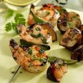 Recipe Rich in Vitamin C ( Shrimp Plumb Kebabs)