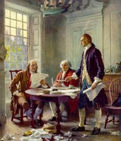 Creation of the Decleration of Independence; July 4, 1776