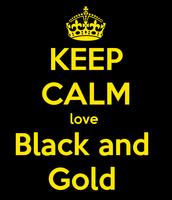Black & Gold Attire