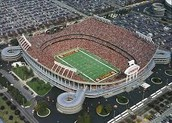 Here is a picture of Arrowhead Stadium