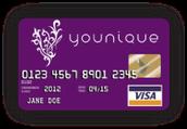 Younique Debt Card