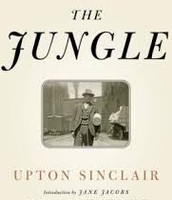 The famous book The Jungle by Upton Sinclair