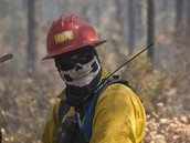 Forest firefiter