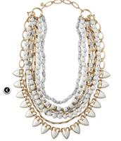 Sutton in White (5 way necklace!)