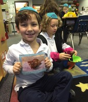 Ben shared about his new kitten during show and tell!!