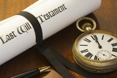 Estate Planning Tools: Wills