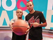 Stephen With Bow Wow