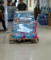 Flint, Michigan Donation Send Off