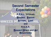 Second Semester Behavior Expectations