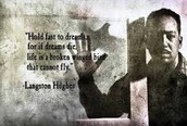 Quote From The Author- Langston Hughes