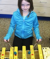 First grade xylophonist