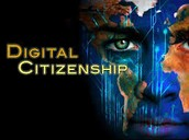 What are the different elements of digital citizenship?