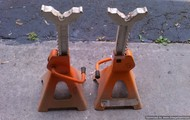 Pair of Heavy Duty - 3 Ton Jack Stands
