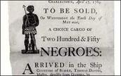 Slave Sale This Weekend