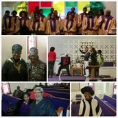 Concord Family Enjoying Fellowship