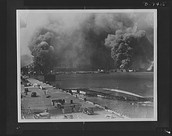 Pearl Harbor after bombing