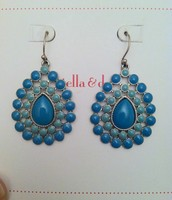 Charlize Teardrop Earrings