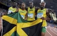 JAMAICAN MEN'S 4x4 RELAY TEAM