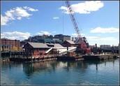 Boston Harbor!