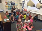 Our last Guidance lesson with Miss. Joyner until FIRST GRADE.