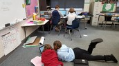 Sharing writing in 6th grade