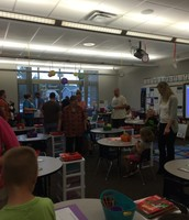 1A Mrs. Thomas' open house
