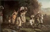 slaves running away