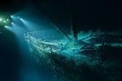 Titanic after the crash