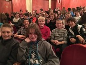 7th graders in the Pabst Theater