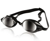 to go as fast as you can use these grey-black race goggles at your meets!
