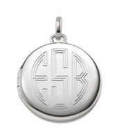 Engravable Memento Locket