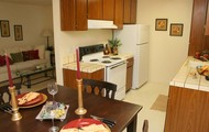 Your new dining room and kitchen!