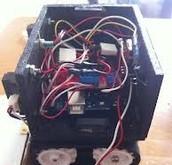 A homemade Sumo bot