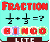 Fraction Bingo Lite