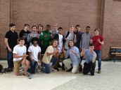 Cross Country Boys going to the state meet