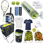 We sell the best tennis equipment