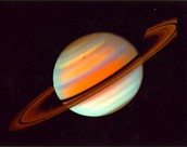 Saturn has so many differant colors to it!