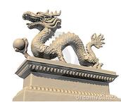siver ball dragon