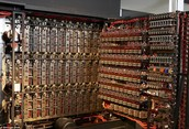Alan Turing's enigma cracking computer.