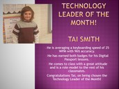 Technology Leader of the Month