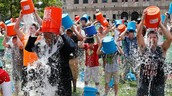 ALS icebucket challenge to raise awareness