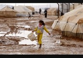 Iran builds refugee camps